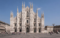 Duomo, Milan. Duomo is the cathedral church of Milan, Italy royalty free stock photography