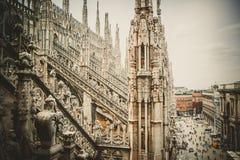 The Duomo in Milan Stock Photos