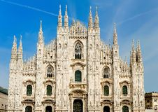 Duomo of Milan Royalty Free Stock Image