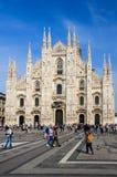 Duomo Milan Arkivbilder