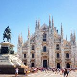 duomo Milan Fotografia Royalty Free