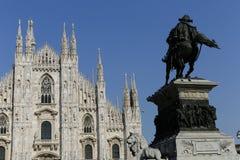 Duomo in Milan Stock Photography
