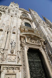 Duomo in Milan Royalty Free Stock Photography