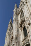 Duomo in Milan Royalty Free Stock Photo