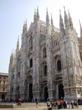 Duomo, Milan Cathedral Stock Photo
