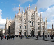 duomo Milan de cathédrale photographie stock