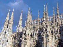 duomo Milan de groupe Photographie stock