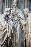 Duomo of Milan. Detail Stock Photo