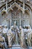 Duomo of Milan. Detail Stock Photos
