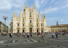 Duomo of milan Royalty Free Stock Photos