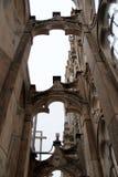 Duomo of Milan. Gothic architecture of the duomo of Milan - Italy stock photos