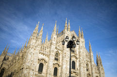 The duomo Milan Italy Stock Image