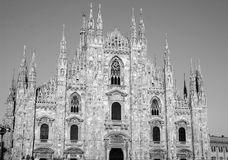 Duomo in Milan, Italy Stock Photography