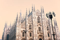 Duomo in Milan, Italy. Stock Images