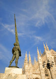 The Duomo of Milan, Italy Stock Image