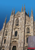 Duomo of Milan, Italy. Front view of Duomo, in Italy Royalty Free Stock Image