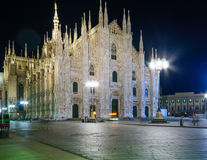 The Duomo of Milan Royalty Free Stock Image