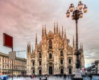 Duomo of Milan, Italy. Royalty Free Stock Photo