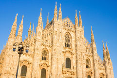 Duomo in Milan, Italy Royalty Free Stock Photos