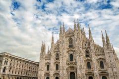 Duomo of Milan, Italy Stock Photos