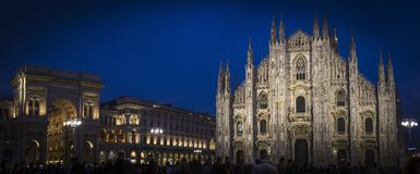 Duomo of Milan in italy Stock Photography