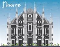 Duomo. Milan. Italy. Vector Illustration. Stock Photos