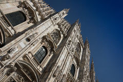 Duomo of Milan, (Milan Cathedral), Italy. Royalty Free Stock Photos