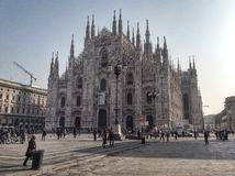 Duomo of Milan Royalty Free Stock Photography