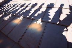 Duomo Milan - shadows Royalty Free Stock Photos