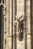 Duomo of Milan, statues Royalty Free Stock Photography