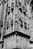 Duomo Milan sud east facade Stock Photo