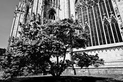 Duomo Milan sud east facade prespytery Royalty Free Stock Photos