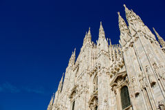 Duomo of Milano Royalty Free Stock Photography