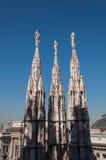 Duomo Milano 15 Arkivbilder