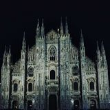 Another amazing architecture from milan : Duomo di milan royalty free stock images