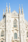 Duomo Milano Italia Imagen de archivo