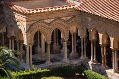 Duomo Monreale Royalty Free Stock Photography