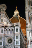 Duomo by Night. Florence's Dome (Duomo).  Italy Stock Images