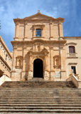 San Francesco Church Noto, Sicily, Italy Stock Photography