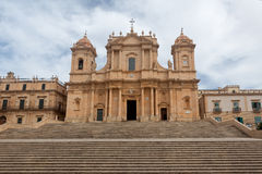 Duomo, Noto, Sicily, Italy Royalty Free Stock Photography