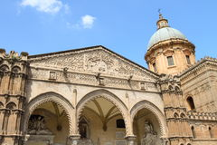 Duomo of Palermo in Sicily, Italy Stock Images