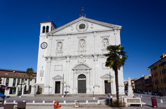 The Duomo in Palmanova, Italy Royalty Free Stock Images