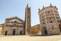 Duomo of Parma stock images
