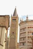 Duomo of Parma Royalty Free Stock Photography