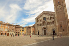 Duomo of Parma Royalty Free Stock Images