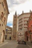 Duomo of Parma Stock Photography