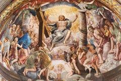 Duomo of Parma, interior Royalty Free Stock Photo