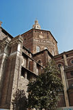 Duomo of Pavia. Architecture shot of italian ancient Renaissance cathedral Royalty Free Stock Images