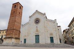 Duomo of Pietrasanta Stock Image