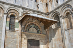 Duomo Pisa Cathedral fragment Royalty Free Stock Photos